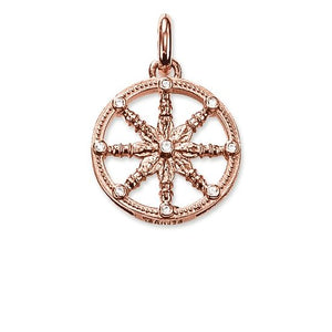 "Thomas Sabo Pendant ""Karma Wheel Small"" KC0001-416-14"