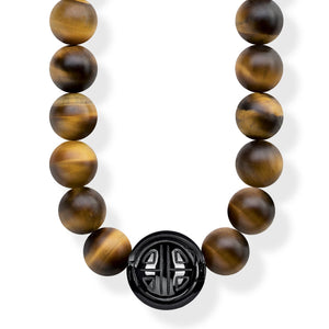 Thomas Sabo Power Necklace Brown KE1673-806-2-L100