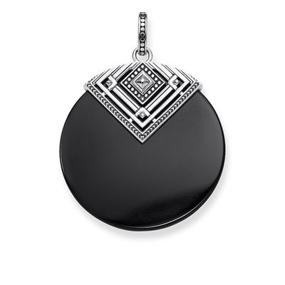 Thomas Sabo Pendant Africa Triangle Black PE749-698-11