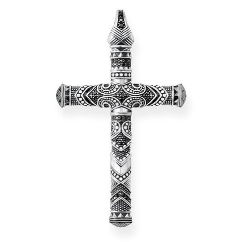 Thomas Sabo Unisex Pendant Maori Cross Large PE773-643-11