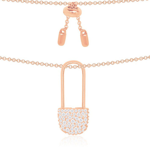 APM BABY XL NECKLACE PINK RP10115OX