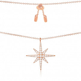 APM Meteorites Rose Necklace RP9606OX