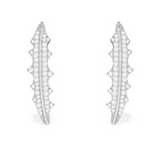 APM Gothique Epine Silver Earring AE9788OX