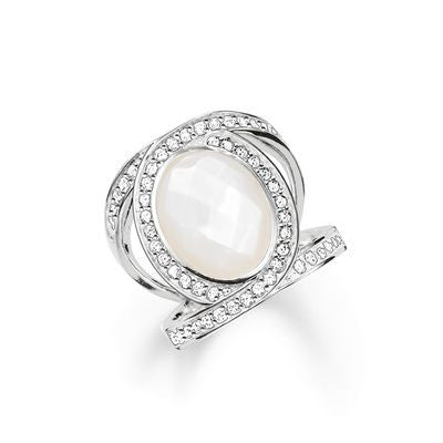 Thomas Sabo Woman's Ring Sterling Silver Glam & Soul TR2015-030-14
