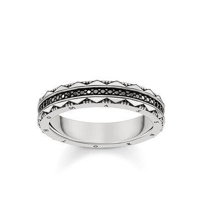 Thomas Sabo Unisex Ring Hieroglyphs Ornamentation TR2106-643-11