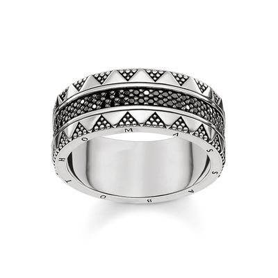 Thomas Sabo Unisex Ring Hieroglyphs Ornamentation TR2107-643-11