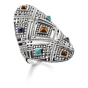 Thomas Sabo Women's Ring Africa ornaments TR2128-361-7