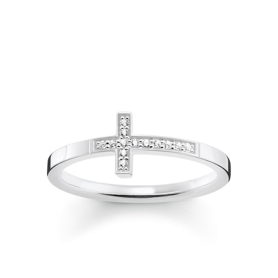 Thomas Sabo Women's Ring Cross TR2140-051-14