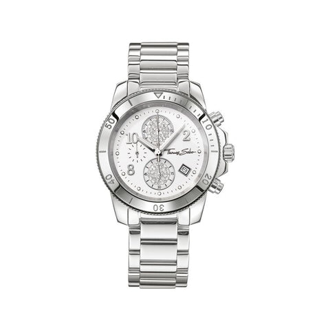 "Thomas Sabo Women's Watch ""GLAM CHRONO"" WA0133-201-202-40mm"