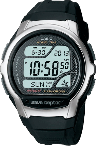 Casio Waveceptor Atomic World Time Watch WV58A-1AV