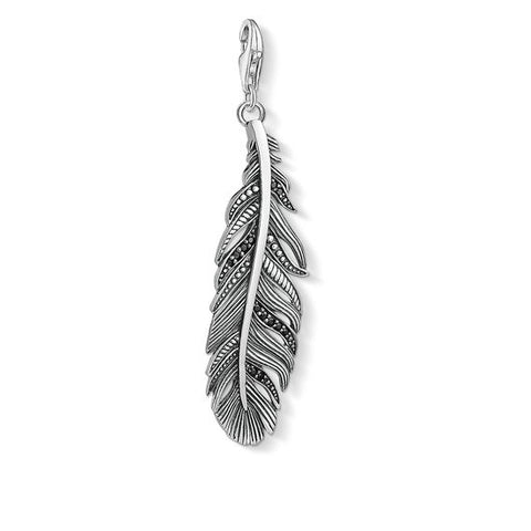 "THOMAS SABO CHARM PENDANT ""FEATHER"" Y0022-643-11"