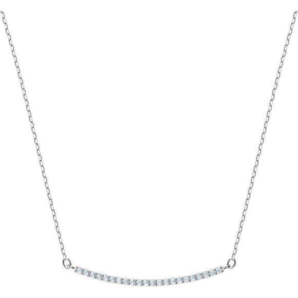 Swarovski Only Necklace, White, Rhodium Plating 5470555