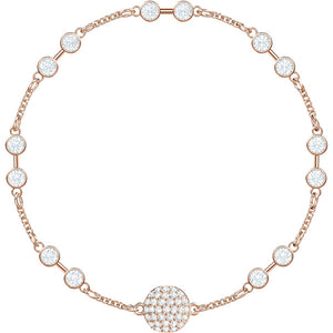 Swarovski Remix Collection Carrier, White, Rose Gold Plating 5451037