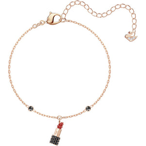 Swarovski Mine Lipstick Bracelet, Multi-colored, Rose Gold Plating 5448423