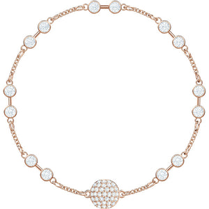 Swarovski Remix Collection Carrier, White, Rose Gold Plating 5451032