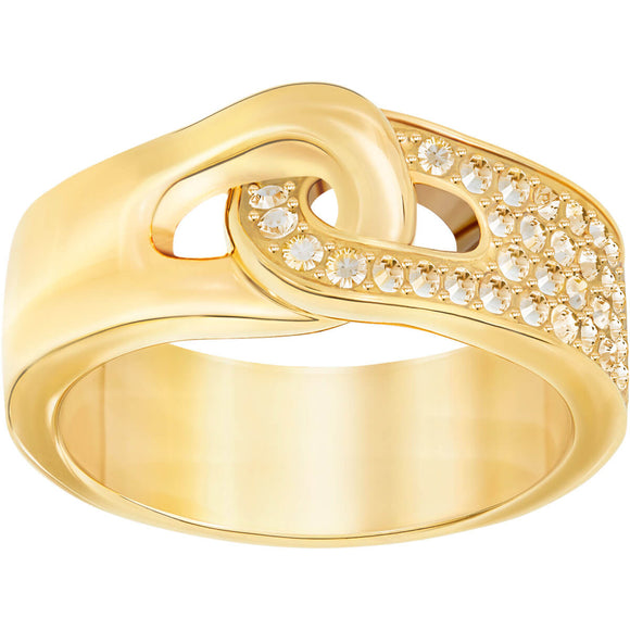 Swarovski Gallon Ring, Golden, Gold Plating 5278748