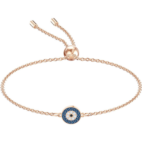 Swarovski Luckily Bracelet, Multi-colored, Rose Gold Plating 5468924
