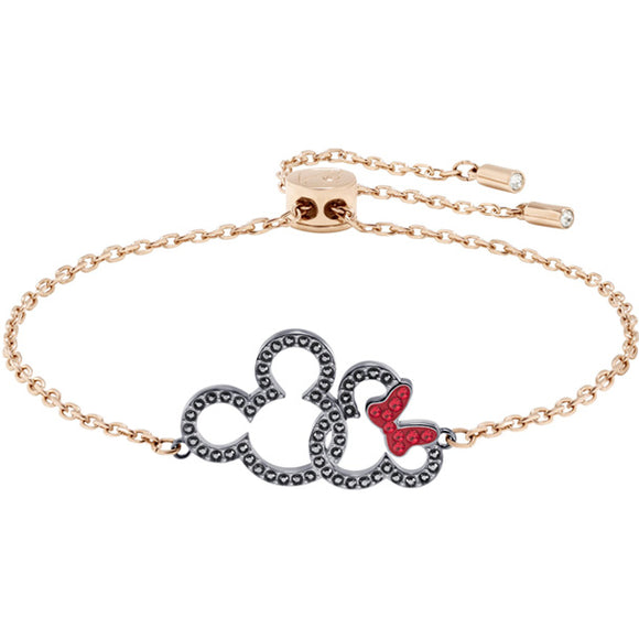 Swarovski Mickey & Minnie Bracelet, Multi-colored, Mixed Plating 5435138