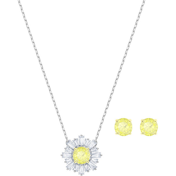 Swarovski Sunshine Set, White, Mixed Plating 5480464