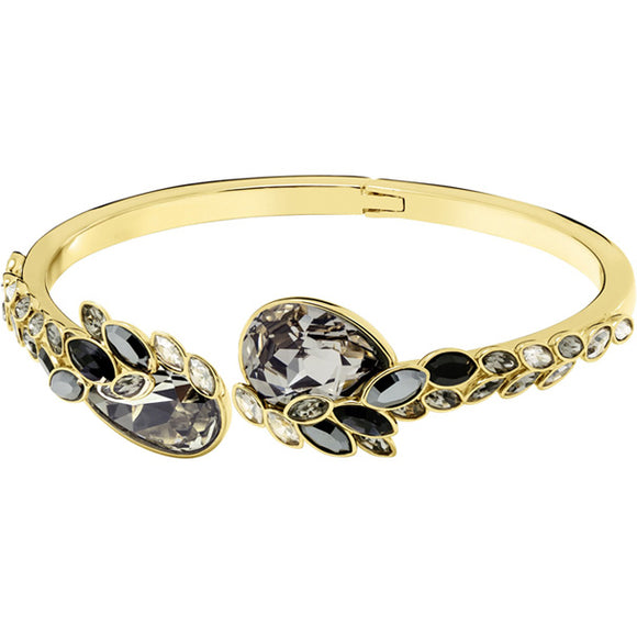Swarovski March Owl Bangle, Multi-colored, Gold Plating 5428794