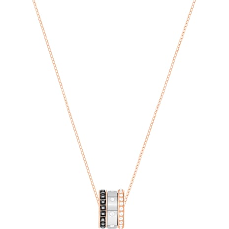 Swarovski Hint Pendant, Multi-colored, Mixed Metal Finish 5353666