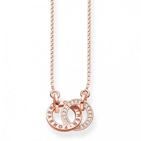 "THOMAS SABO NECKLACE ""FOREVER TOGETHER SMALL"" KE1488-416-40"