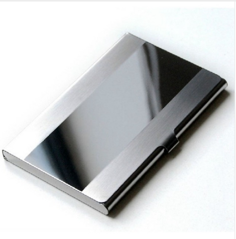 Stainless Steel Business & Credit Card Wallet - Millennial Style Group