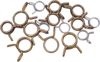 Helix Racing WIRE HOSE CLAMPS  ASSORTED, 15PK | 111-1511