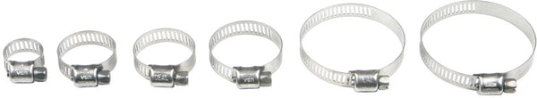 Helix Racing  STAINLESS STEELWORM DRIVE HOSE CLAMP 32MM - 58MM, 10 PK | 111-6228
