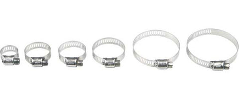 Helix Racing STAINLESS STEEL WORM DRIVE HOSE CLAMP 10MM-25MM | 111-6208