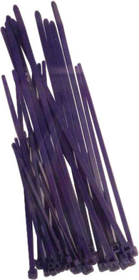 Helix Racing ASSORTED CABLE TIES PURPLE, 30 PK | 303-4686