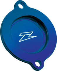 ZETA ZE90-1312 Blue Anodized Oil Filter Cover Yamaha WR250R WR250X 2007-2017