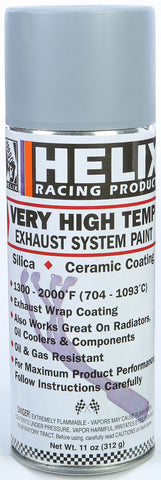 Helix Racing HIGH TEMP EXHAUST SYSTEM PRIMER, GRAY 11oz | 165-1000