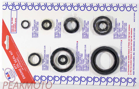 K&S ATV Complete Engine Oil Seal Kit  TRX-450R/ER (06-08)  | 50-1048