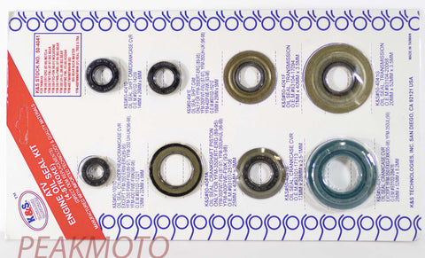 K&S ATV Complete Engine Oil Seal Kit  YFM-350ER/FW/FX/FWB  | 50-4041