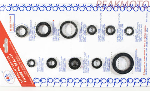 K&S Off-Road Complete  Engine Oil Seal Kit  CR-125R (04-07)  | 51-1004