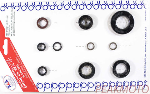 K&S Off-Road Complete  Engine Oil Seal Kit  XR-600 /650L  | 51-1042