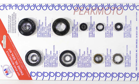K&S Off-Road Complete  Engine Oil Seal Kit  KX65/80/85/100  | 51-2004