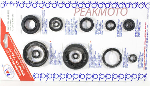 K&S Off-Road Complete  Engine Oil Seal Kit  YZ-250 (99-06)  | 51-4005