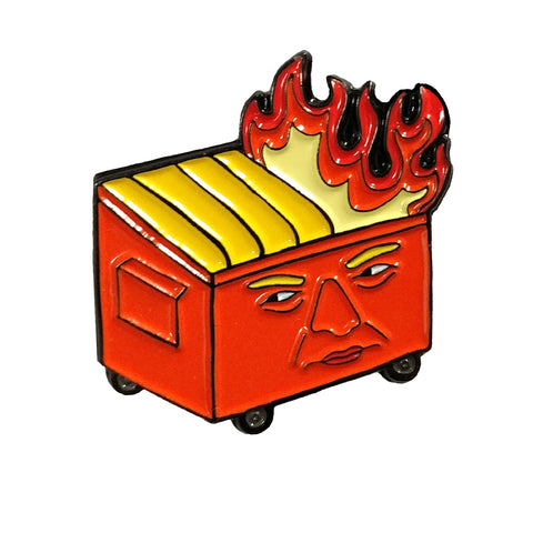Trumpster Fire Soft Enamel Pin