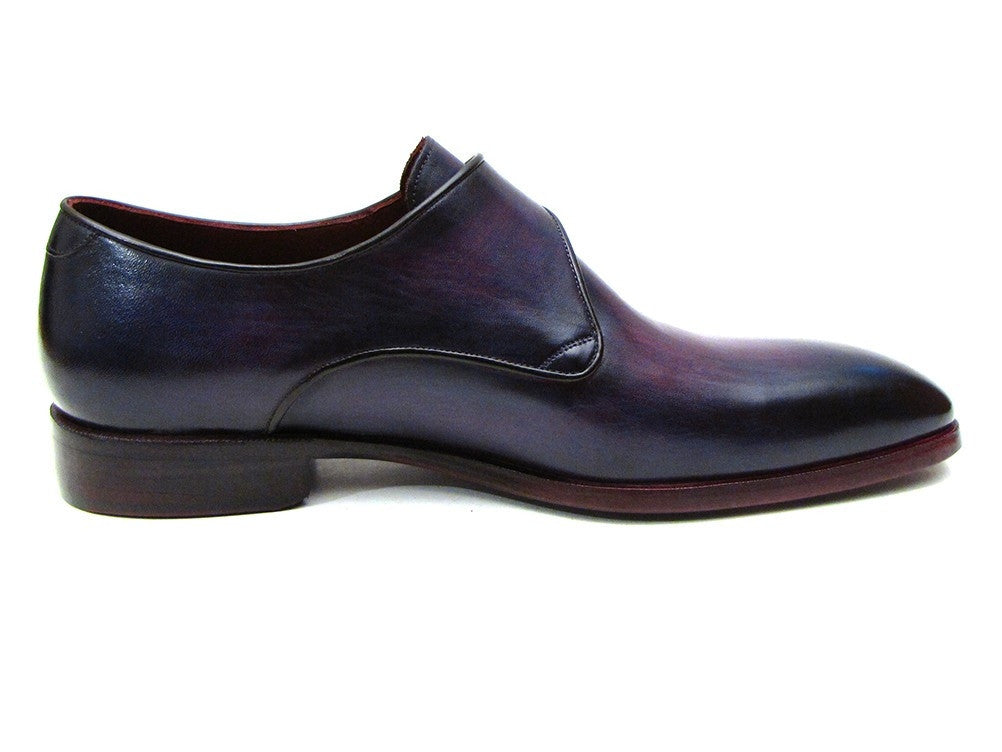 Purple Monkstrap Paul Parkman Shoes