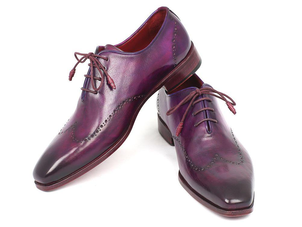 Purple Wingtip Paul Parkman Oxfords