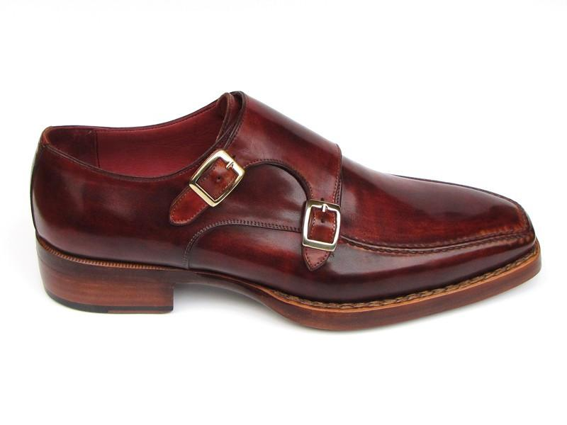 Double Monkstrap Paul Parkman Goodyear Welted Shoes