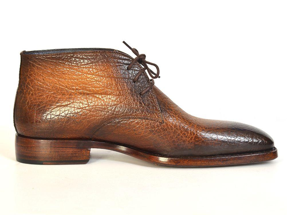 Chukka Paul Parkman Boots Brown & Camel