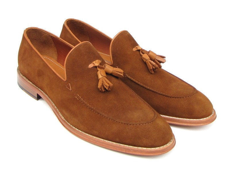 Tobacco Suede Paul Parkman Loafers