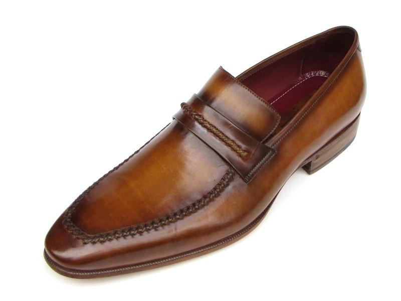 Men's Loafer Brown Leather Shoes Paul Parkman