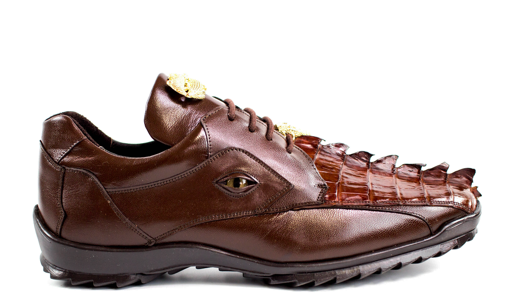 Vasco Brown Hornback Belvedere Sneakers shoes