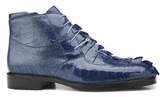 Barone Blue Jean Hornback and Ostrich shoes