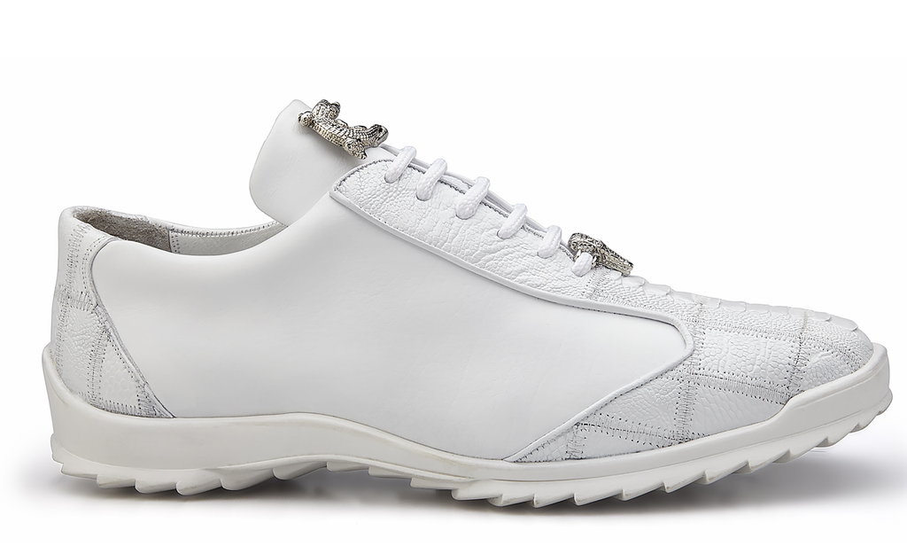 Paulo White Belvedere Sneakers shoes