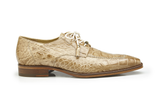 Lorenzo Taupe Alligator Belvedere Shoes